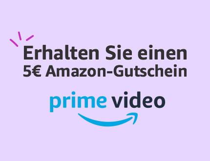 5€ Amazon-Gutschein fürs Film oder Serie schauen [Prime]