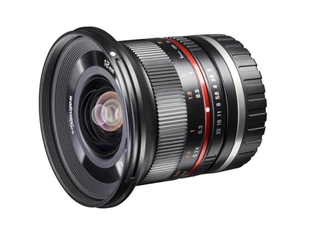 Walimex Pro 12mm F2.0 APS-C Sony E-Mount schwarz (baugleich mit Samyang)