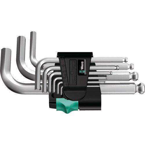 [Amazon Prime] Wera 05133163001 Hex-Plus Winkelschlüsselsatz 950 PKS/9 SM N, metrisch, 9-teilig