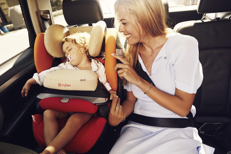 Cybex Pallas M-Fix Pure Black - Kindersitz von 9-36kg Körpergewicht | für Autos mit und ohne Isofix