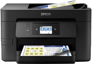 EPSON WorkForce Pro WF-3725DWF, 4-in-1 Multifunktionsdrucker, Schwarz