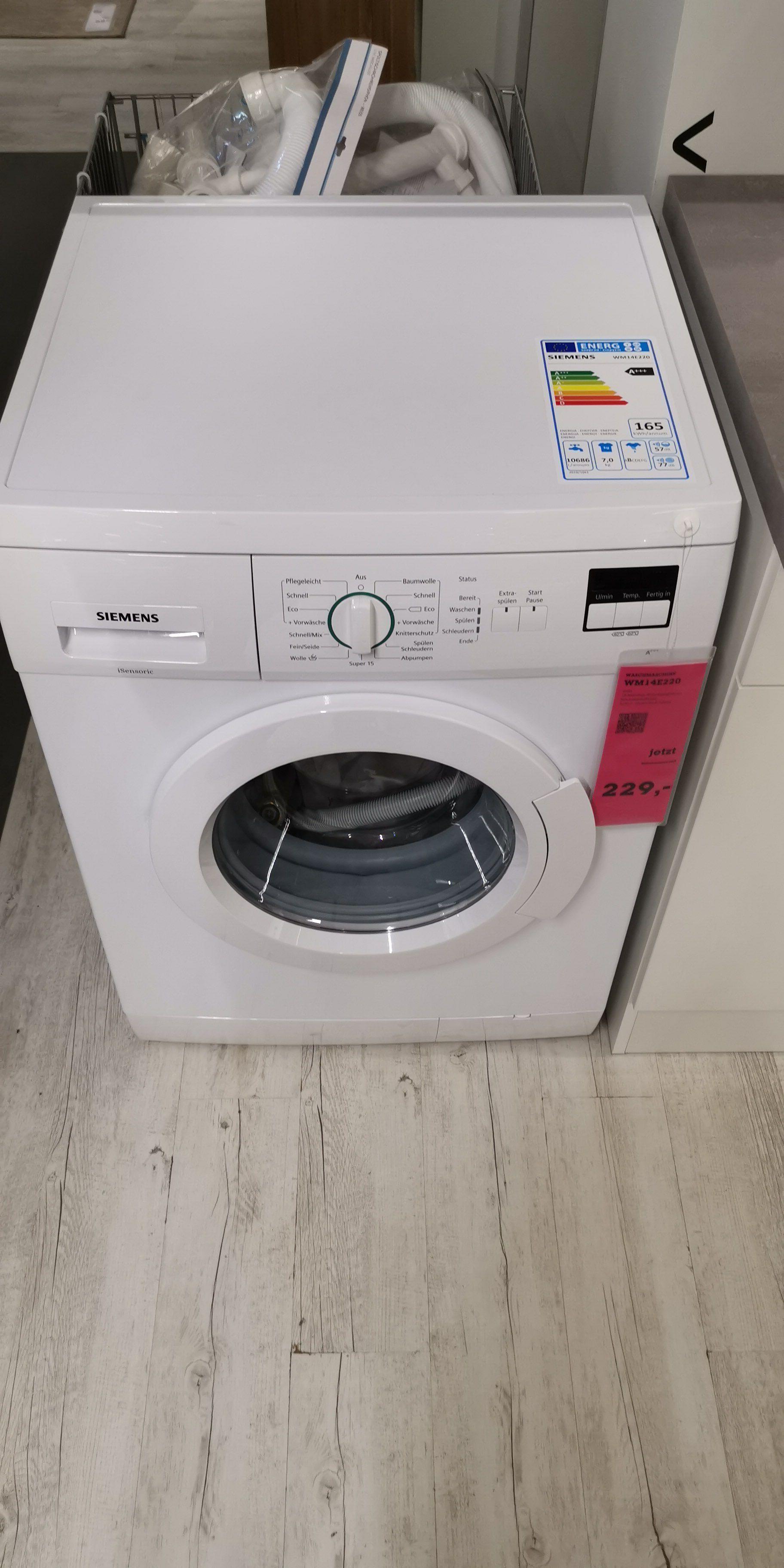 SIEMENS Waschmaschine WM14e220 im Mömax Fulda