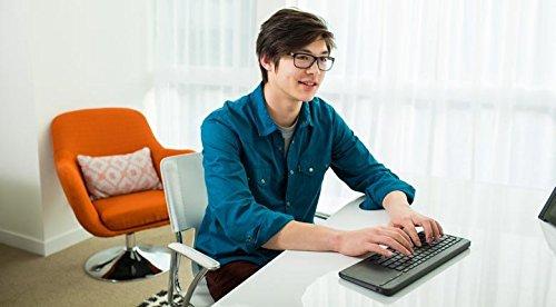Microsoft All-in-One Media Keyboard   vor Stößen und Spritzwasser geschützt
