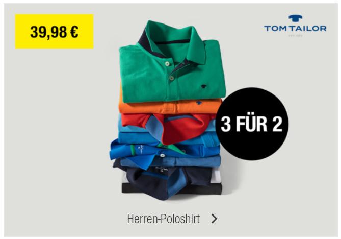 6 Polo Shirts bei Kaufhof