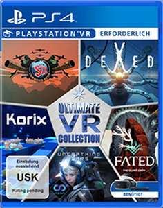 Ultimate VR Collection (PS4-VR) für 14,56€ (Amazon Prime & Saturn)
