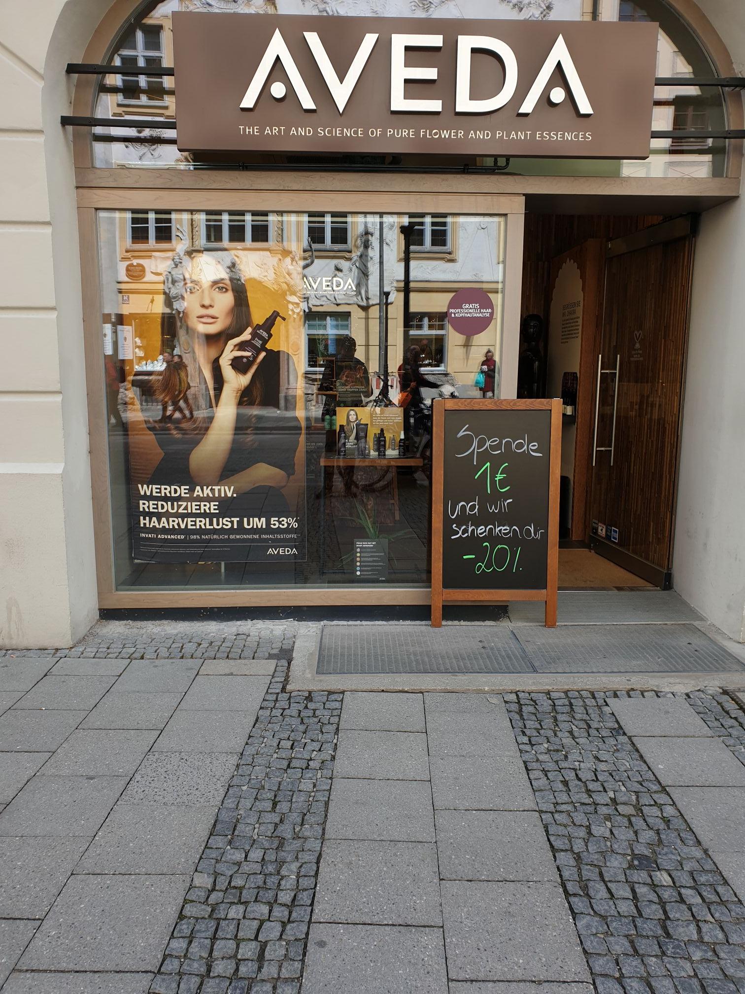 [Lokal München] 20% auf alles, I'm AVEDA store Sendlinger Straße