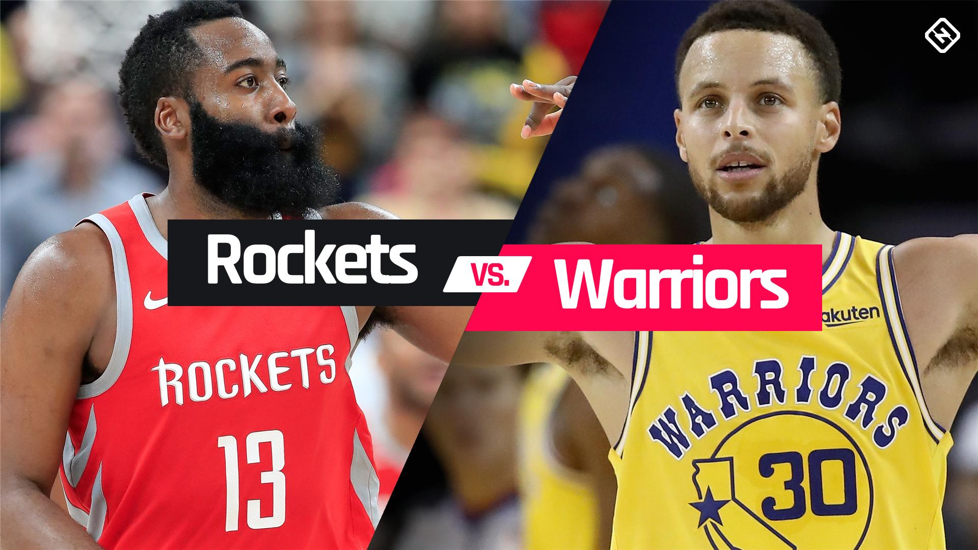 [SPOX] 28.04 Golden State Warriors VS Houston Rockets - NBA Playoffs im kostenlosen Livestream