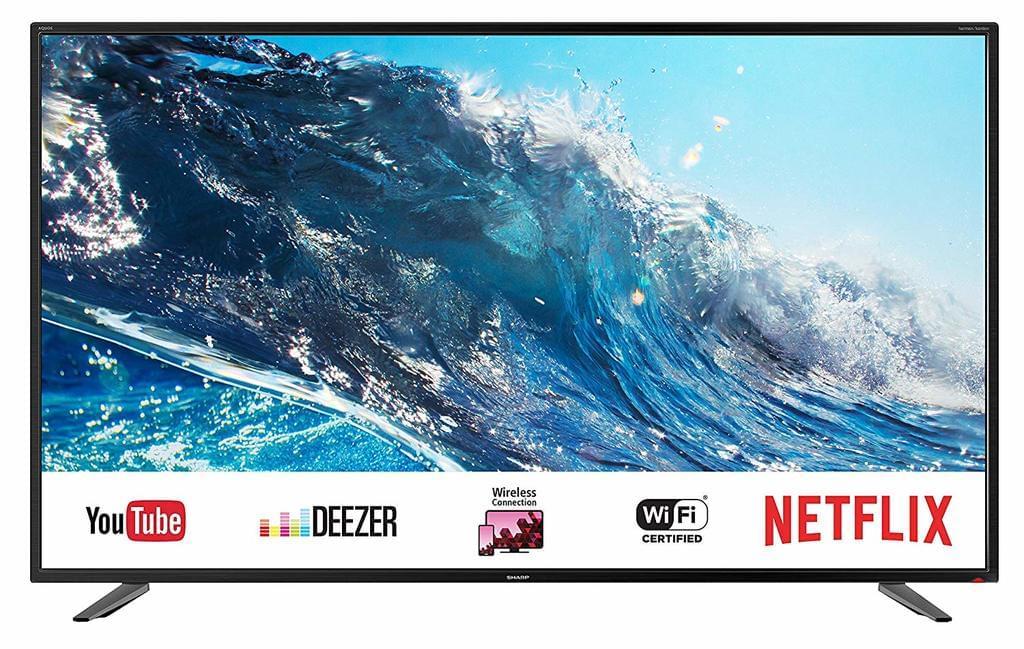 [ONLINE & OFFLINE] Sharp 4K Ultra HD LED TV 55 Zoll | LC-55UI7252E | SmartTV