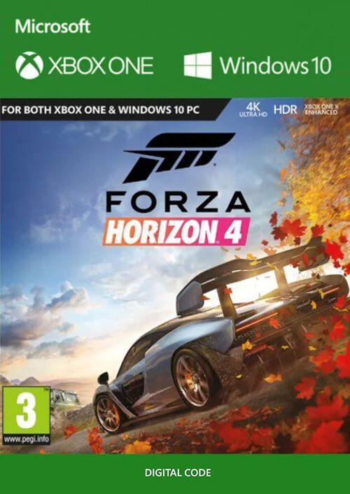 Forza Horizon 4 (Xbox One/PC Digital Code Play Anywhere) für 29,89€ (CDkeys)