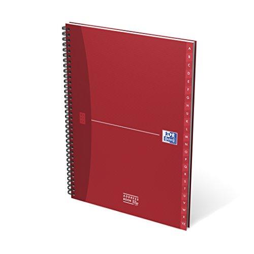 Oxford Essentials 100102783 Adressbuch im 5er Pack für 13,55 € bei amazon.de