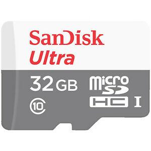 SANDISK Ultra microSDHC Speicherkarte 32 GB für 5€ [MediaMarkt eBay]
