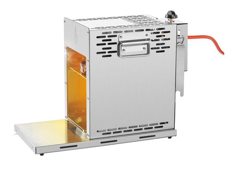 Hochtemperatur-Gasgrill mit Keramikbrennelement für Temperaturen um 800 °C[Lidl ab dem 09.05.]