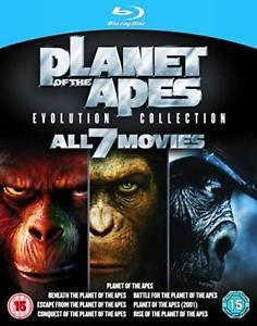 Planet der Affen 7 Film Collection (Blu-ray) für 10,99€ (ebay)