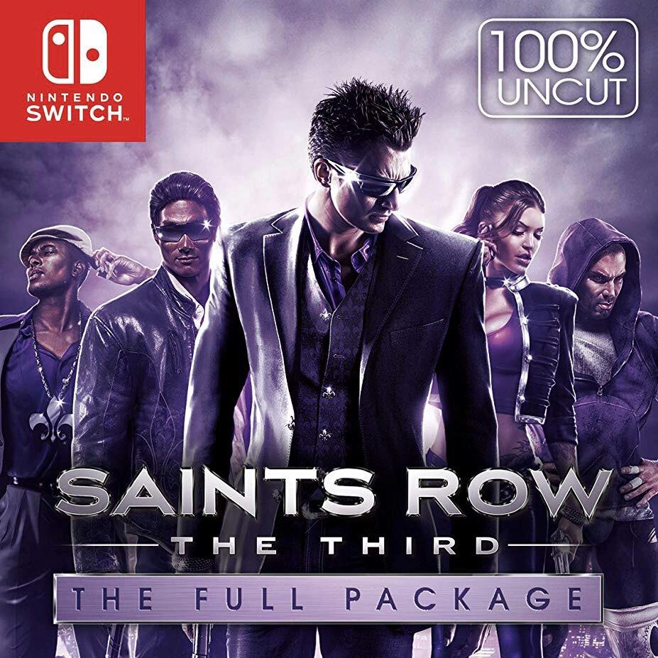 Saints Row: The Third - The Full Package für Nintendo Switch für nur 24,88 € [RUS eshop]