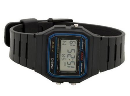 Casio F-91W digitale Armbanduhr nur 6,95€ inkl. Versand [wieder da]
