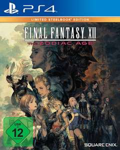 Final Fantasy XII: The Zodiac Age - Steelbook Edition (PS4) für 10,84€ inkl. Versand