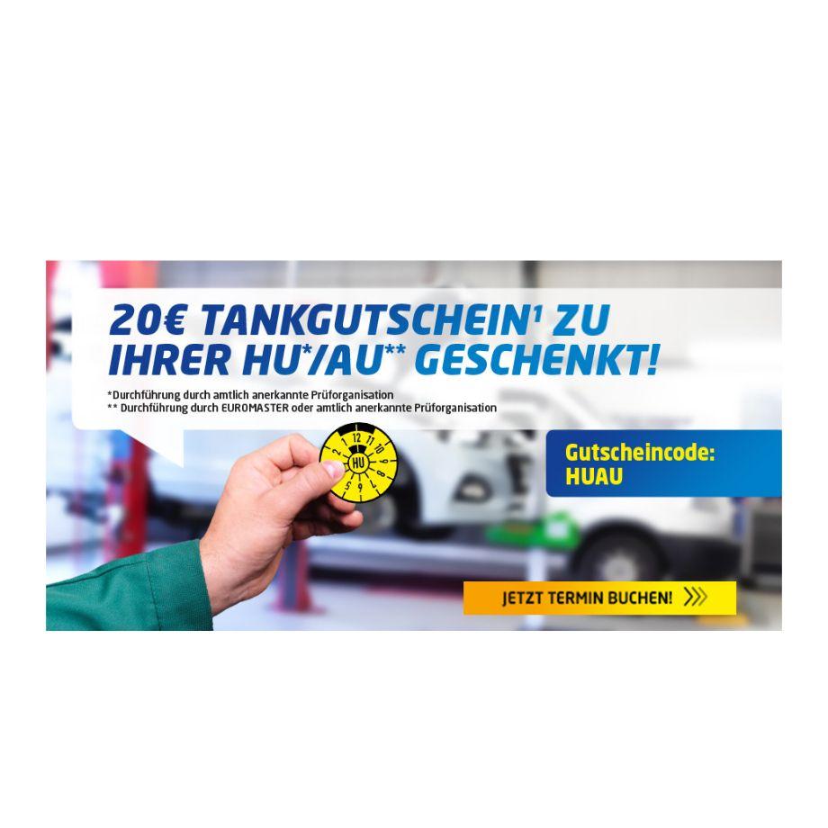 Euromaster: 20€ Shell Tankgutschein zur HU/AU geschenkt