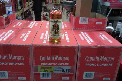 (offline/lokal) Captain Morgan Spiced Gold für 8,88€ im Kaufland (Arcaden) Regensburg