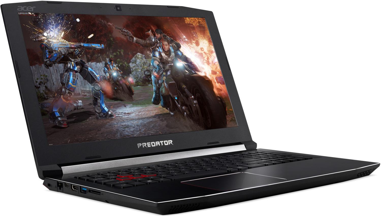 "Acer Predator Helios 300 15.6"" FHD IPS 144Hz Gaming Notebook (i7-8750H, 8GB DDR4, 1TB HDD, GeForce GTX 1060 6GB, Linux, 1x M.2 PCIe SSDSlot)"