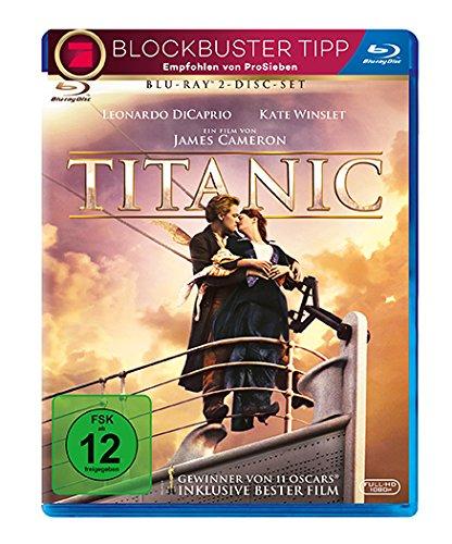 Titanic (Blu-ray + Bonus Blu-ray) für 6,50€ (Amazon Prime & Müller)
