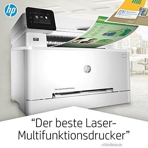 HP Color LaserJet Pro M281fdw Multifunktions-Farblaserdrucker, Laserdrucker