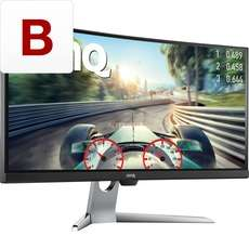 BenQ EX3501R, LED-Monitor Ultra WQHD Curved 100Hz HDR10
