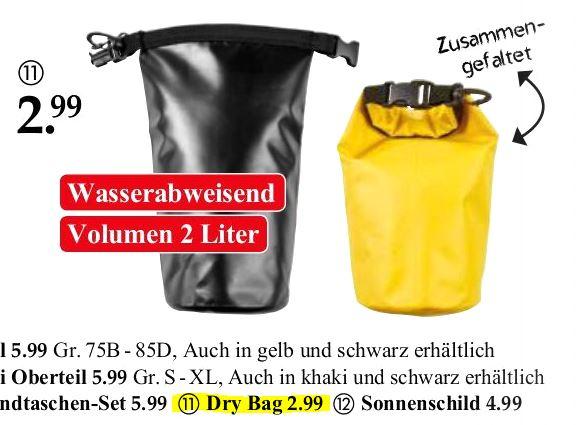 Seesack Dry Bag - bei Woolworth