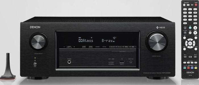 Denon AVR-X2400H | 7.2 AV-Receiver | WLAN | Bluetooth | HEOS | Dolby Atmos dts Vision | Alexa | Apple Airplay | Spotify Connect | [@Amazon]