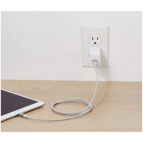 12er-Pack AmazonBasics Lightning-Kabel, Premium, 1,8 m (Silber)