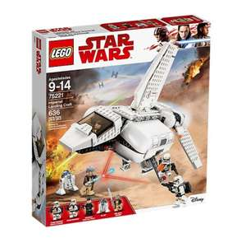 Lego Star Wars 75221 Imperiale Landefähre