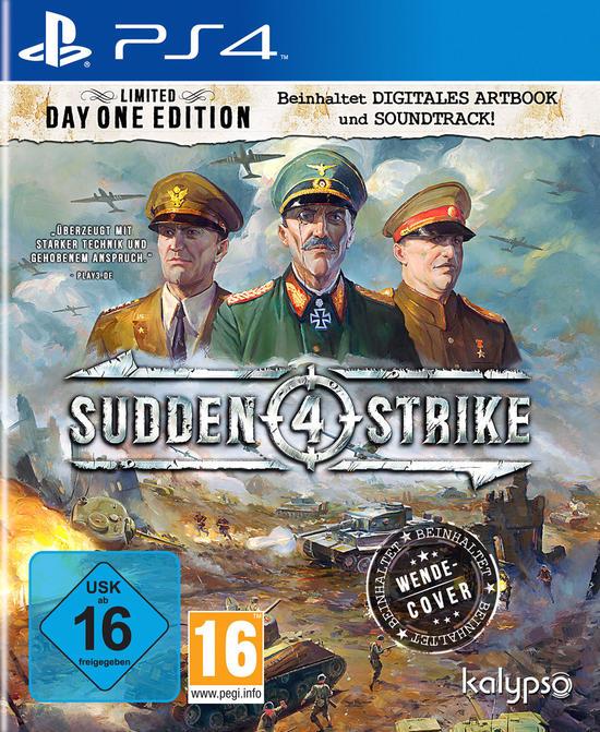 Sudden Strike 4 Limited Day One Edition (PS4) für 12,99€ (GameStop)