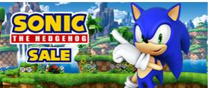 Sonic The Hedgehog Sale mit u.a. Sonic Mania für 6,79€