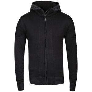 Bravesoul Men's Knitted Zip Thru Double Layer Jumper für 10,96 EUR @thehut