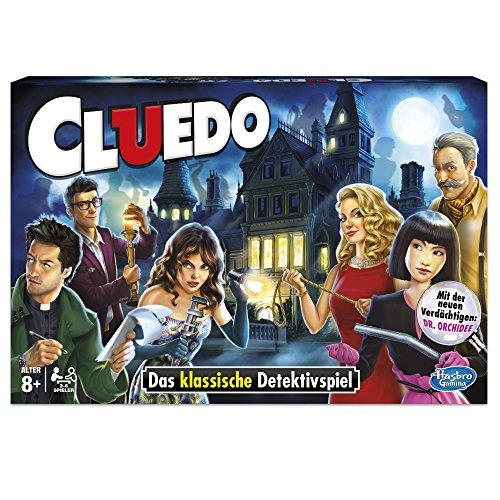 (Prime) Hasbro Spiele 38712398 - Cluedo Familienspiel bei Amazon & Lidl Online