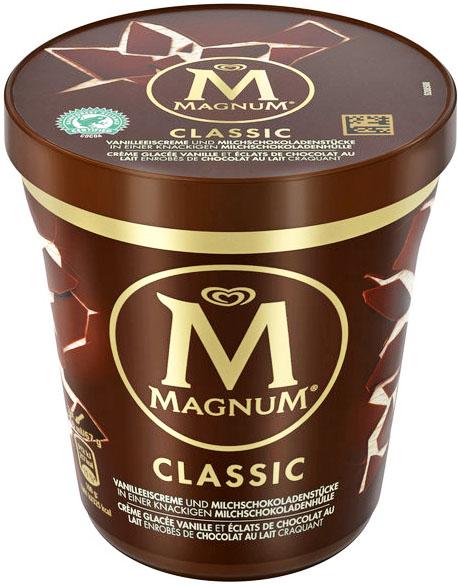 Magnum Eis Becher 37% billiger für nur 2,79€ bei ( Norma ab 6.5.)