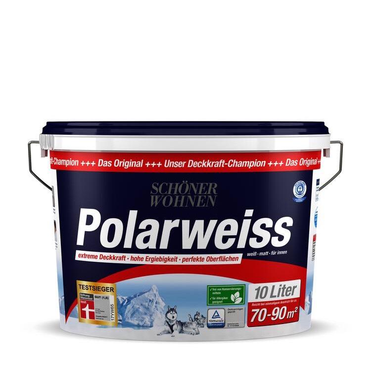 Schöner Wohnen Polarweiss 10l (+1 Liter for free)
