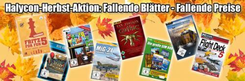 [EIGENWERBUNG] Crazy Machines, Fritz For Fun 5, Trainz Simulator 2009 und andere Halycon Media Titel für 5 EUR