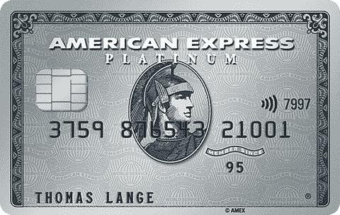 American Express AmEx Platinum Karte 40.000 MRP Punkte für Geworbenen und Werber