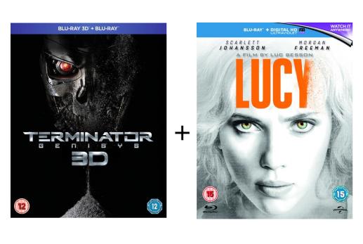 Terminator Genisys (3D Blu-ray + Blu-ray) + Lucy (Blu-ray) für 8,13€ (Zoom.co.uk)