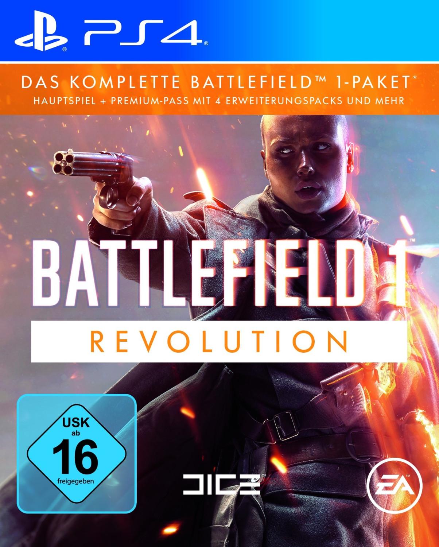 [Mediamarkt] Battlefield 1 Revolution (PS4) für 13,-€ bei Abholung oder 10,-€ über die MM App