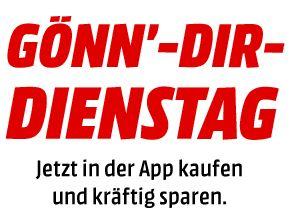[Mediamarkt Gönn-dir Dienstag] Direktabzug durch Kauf per App: bis 30€ 3€ Rabatt, bis 75€ 5€ Rabatt, ab 75€ 10€ Rabatt