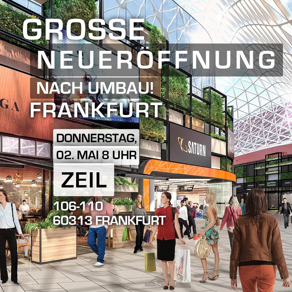 Entertainment Angebote zur Neueröffnung bei Saturn Frankfurt Zeil