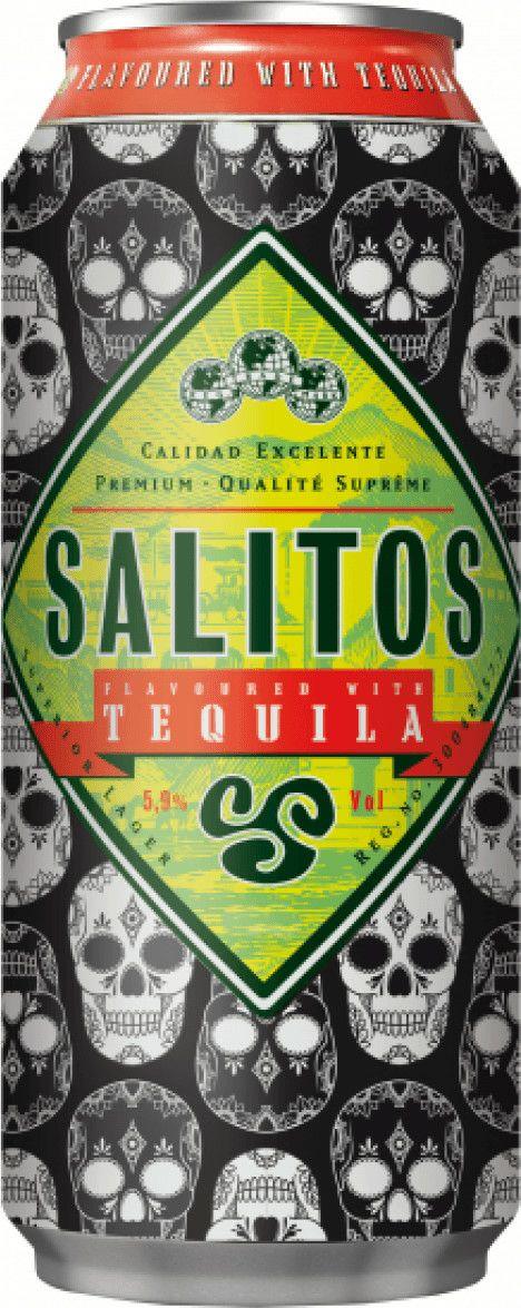 Salitos Tequila Skull Edition Bier 0,5l - 5,9% Vol.
