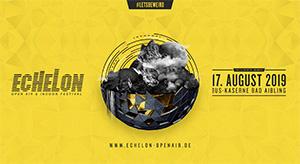 2für1 Samstag Tickets für das ECHELON Festival in Bad Aibling mit o2!