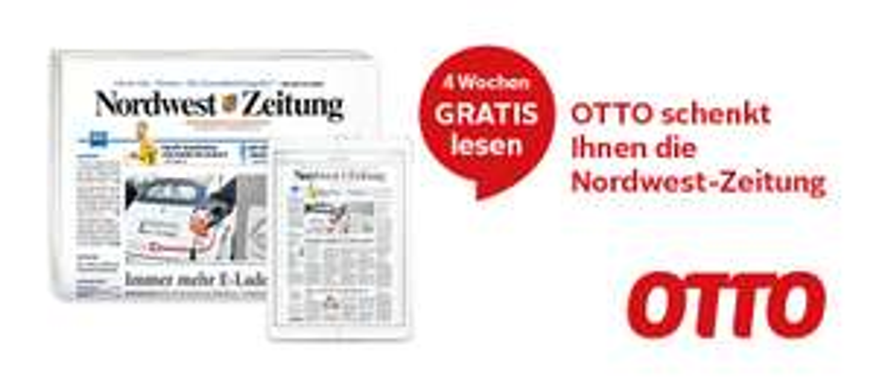 NWZ Nordwest-Zeitung Abo 4 Wochen gratis lesen, selbstkündigend, gedruckt oder epaper