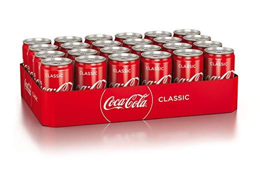 Coca-Cola 24x0,33-Liter-Dosen 5,75 € zzgl. Pfand bei bitiba (entspricht 0,24 € pro Dose), ab 3 Paletten versandkostenfrei