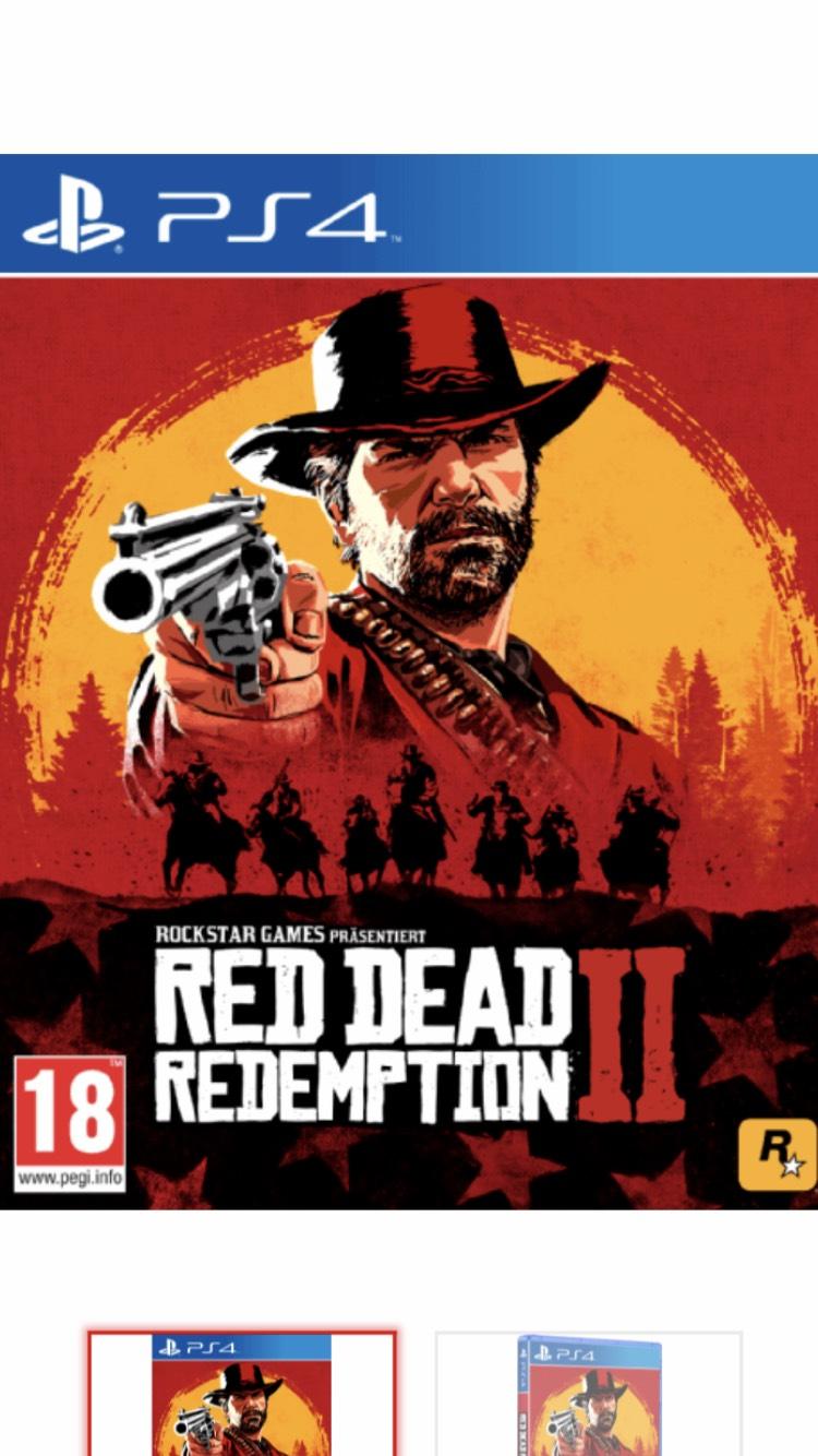 Red Dead Redemption 2 PS4 XBOX ONE 24,99€ bei Selbstabholung Mediamarkt Österreich