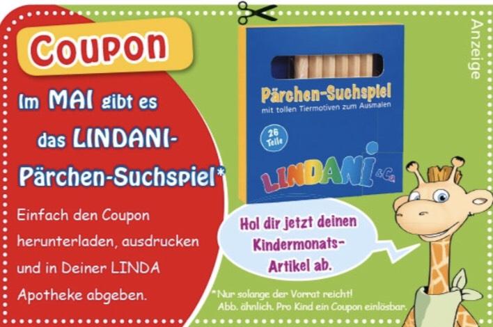 [Linda Apotheke] Lindani Pärchen-Suchspiel gratis