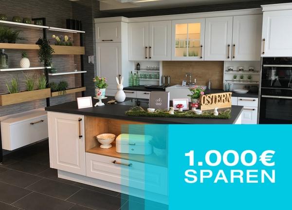 Beim Küchenkauf nach allen Rabatten nochmal 1.000 Euro sparen