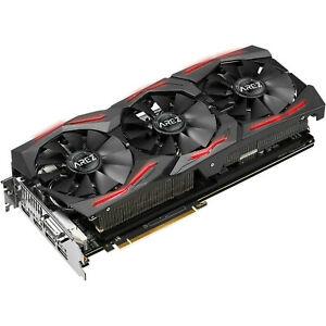ASUS AREZ Strix Radeon RX Vega 56 OC Gaming Grafikkarte, AREZ-STRIX-RXVEGA56-O8G-GAMING, 8GB HBM2, DVI, 2x HDMI, 2x DP + 5 Spiele